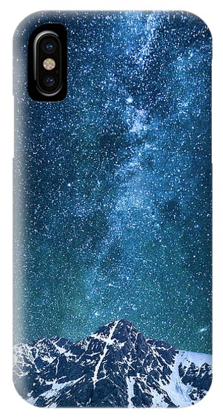 The One Who Holds The Stars IPhone Case