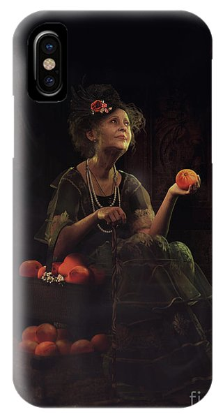 iPhone Case - The Orange Lady by Shanina Conway