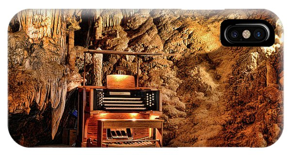 Inner World iPhone Case - The Organ In Luray Caverns by Paul Ward