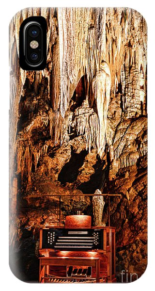 Inner World iPhone Case - The Organ In The Cavern by Paul Ward