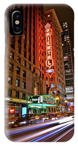 The Oriental Theater Chicago IPhone Case