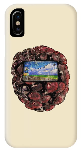 The Blackberry Concept IPhone Case