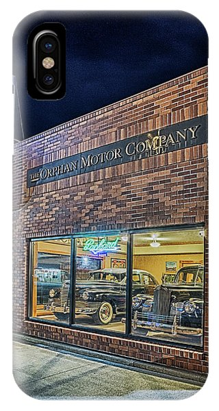 The Orphan Motor Company IPhone Case