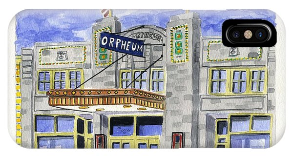 The Orpheum IPhone Case