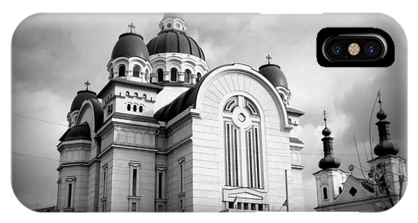 The Orthodox Cathedral And The Saint John The Baptist Church IPhone Case