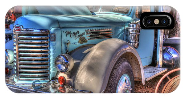 Trucking iPhone Case - The Other Woman by Donna Kennedy