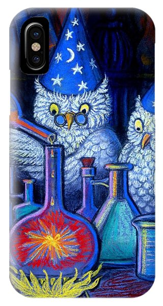 The Owl Chemists IPhone Case
