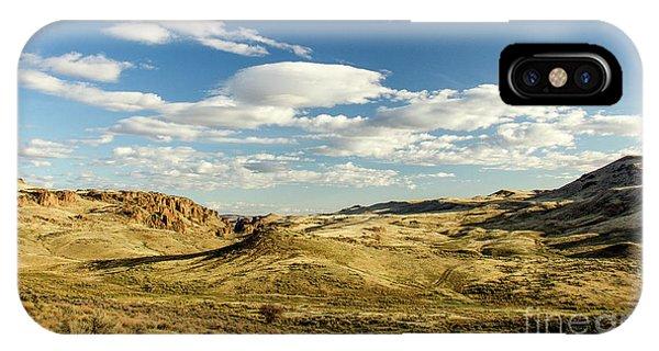 The Owyhee Desert Idaho Journey Landscape Photography By Kaylyn Franks  IPhone Case
