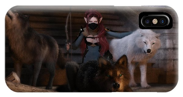 The Pack IPhone Case