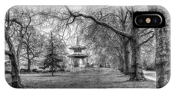 The Pagoda Battersea Park London IPhone Case