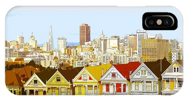 The Painted Ladies In San Francisco California IPhone Case