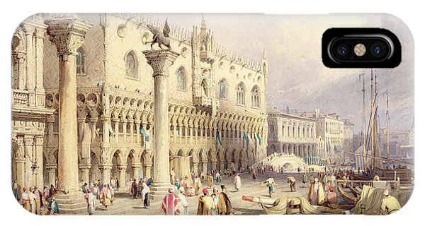 The Palaces Of Venice IPhone Case
