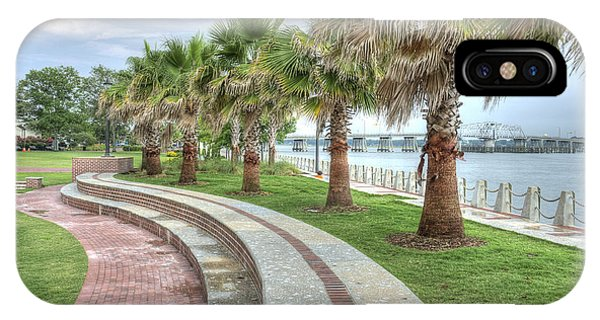 The Palms Of Water Front Park IPhone Case