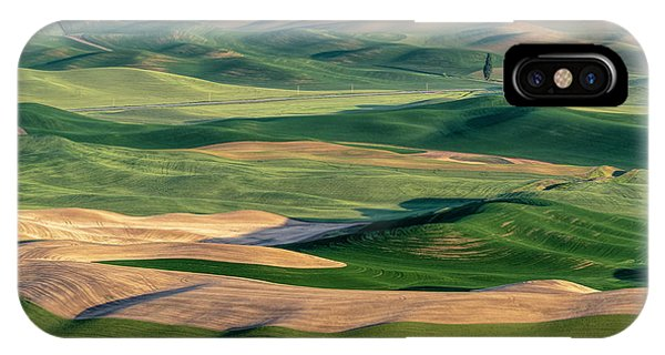 The Palouse IPhone Case