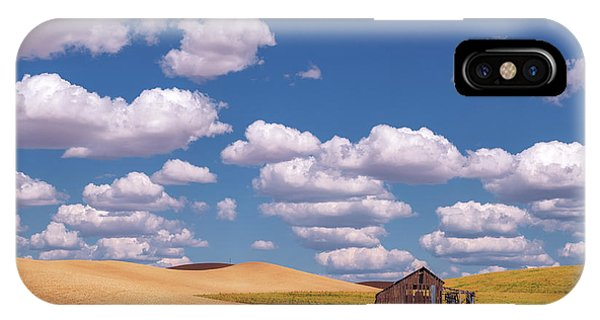 IPhone Case featuring the photograph The Palouse by Sharon Seaward