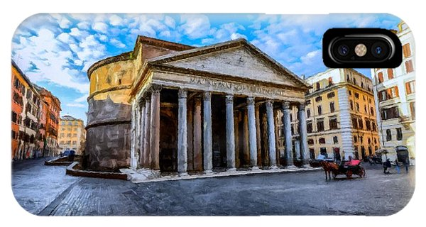 The Pantheon Rome IPhone Case