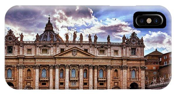 The Papal Basilica Of Saint Peter IPhone Case