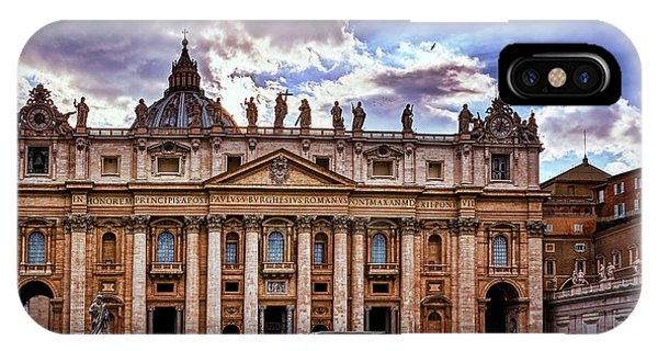 The Papal Basilica Of Saint Peter IPhone Case