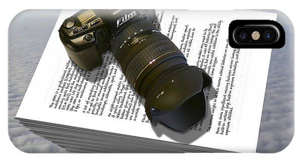 Nikon iPhone Case - The Paperweight by Mike McGlothlen