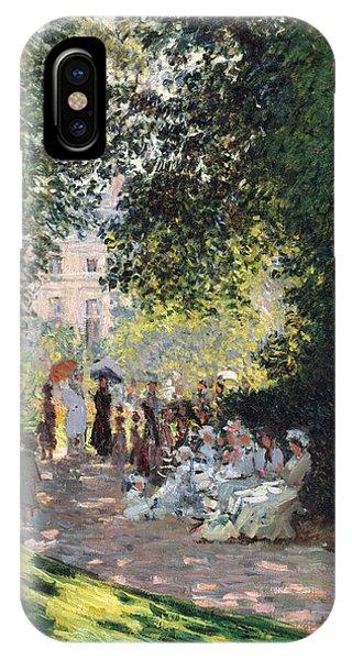 French Painter iPhone Case - The Parc Monceau by Claude Monet