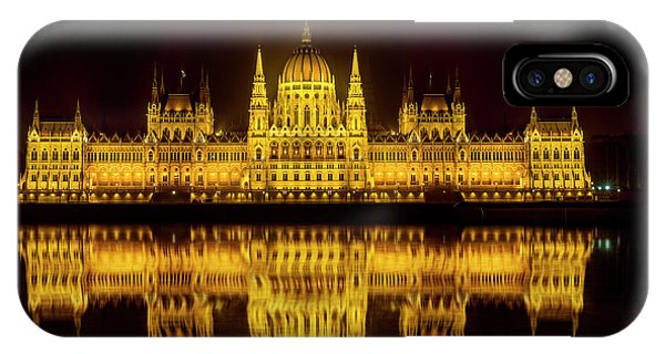 The Parliament House IPhone Case