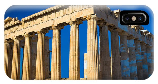 Greece iPhone X Case - The Parthenon by Inge Johnsson