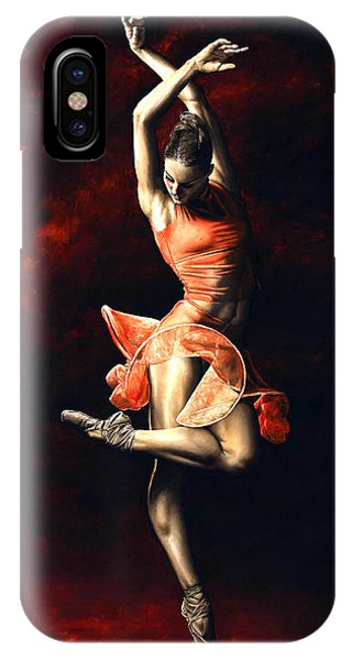 Beauty iPhone Case - The Passion Of Dance by Richard Young