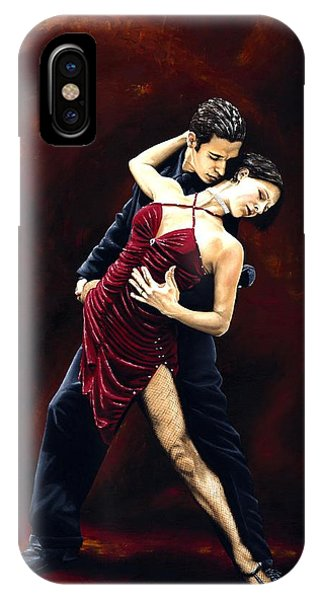 Tango iPhone Case - The Passion Of Tango by Richard Young