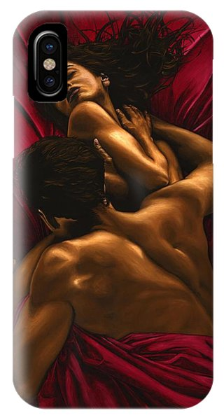 Nudes iPhone X Case - The Passion by Richard Young