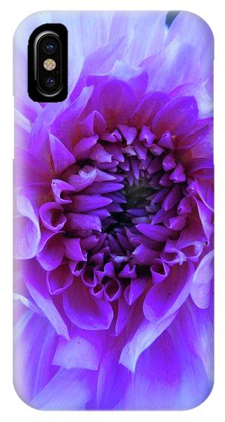The Passionate Dahlia IPhone Case