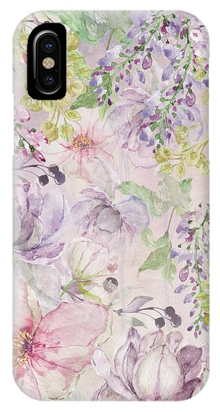 Pastel Colors iPhone Case - The Pastel Garden by Colleen Taylor