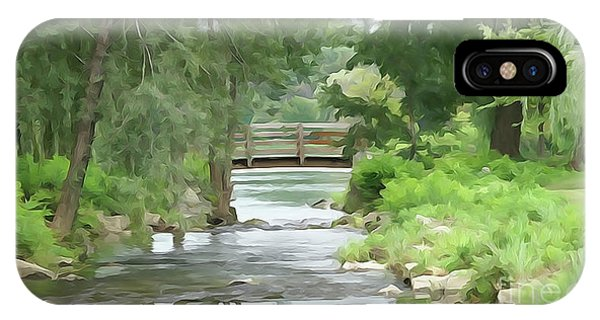 The Pasture's Bridge IPhone Case
