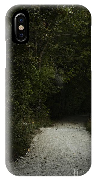 iPhone Case - The Path In The Darkness by Margie Hurwich