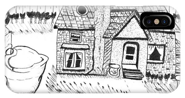 The Peaceful Cottage IPhone Case