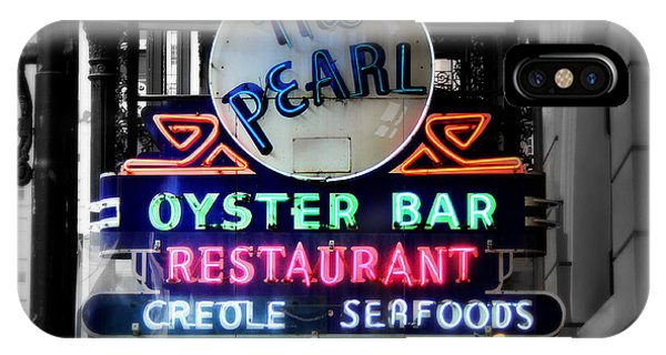 Oyster Bar iPhone Case - The Pearl by Perry Webster