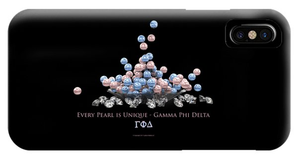 The Pearls Of Gamma Phi Delta IPhone Case