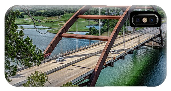 The Pennybacker Bridge IPhone Case