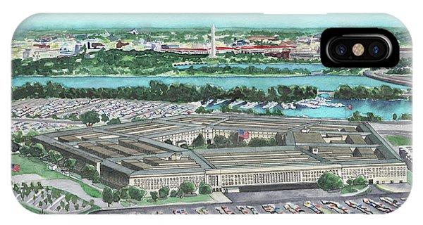 The Pentagon IPhone Case