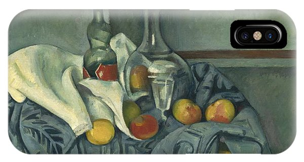 iPhone Case - The Peppermint Bottle by Paul Cezanne