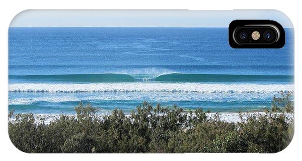 The Perfect Wave Sunrise Beach Queensland Australia IPhone Case