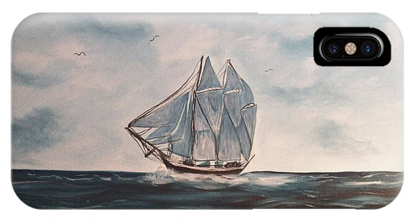 The Phantom Of The Sea Phone Case by Laurie Kidd