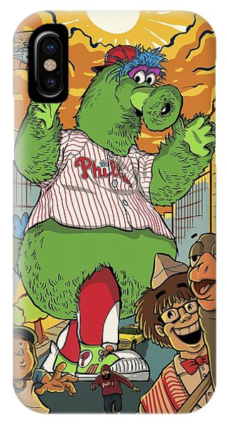 Reading iPhone Case - The Pherocious Phanatic by Miggs The Artist
