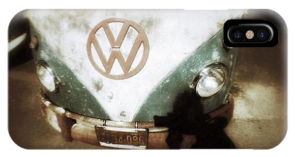 Vw Bus iPhone Case - The Photographer  by Steven Digman