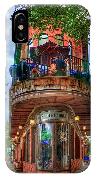 The Pickle Barrel Chattanooga Tn Art IPhone Case