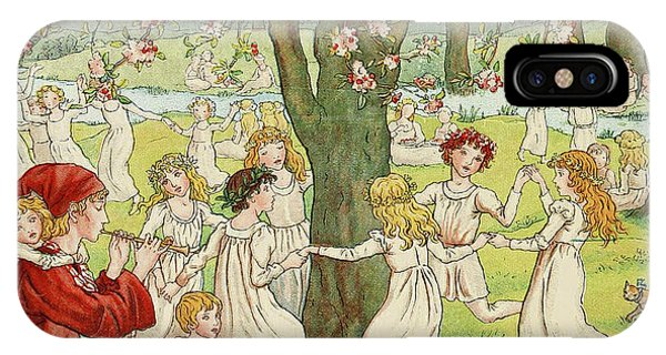 Orchard iPhone Case - The Pied Piper by Kate Greenaway
