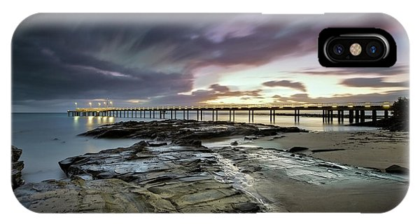 The Pier @ Lorne IPhone Case