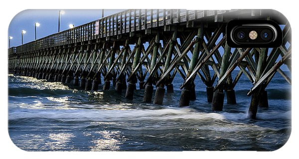 The Pier At The Break Of Dawn IPhone Case