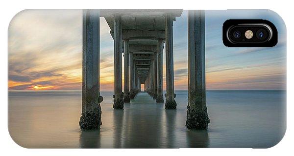 Scripps Pier iPhone Case - The Pier  by Michael Ver Sprill