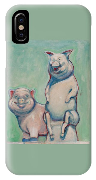 The Pigs IPhone Case