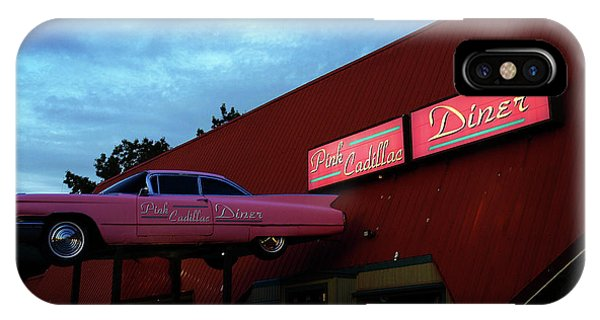 The Pink Cadillac Diner IPhone Case
